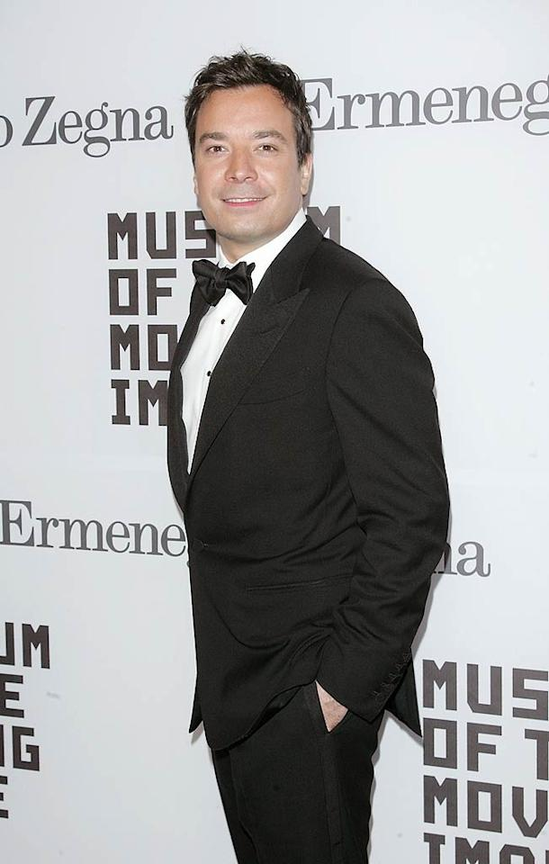 """Saturday Night Live"" alum Jimmy Fallon donned a dapper tux for the occasion. After all, he has the utmost respect for Baldwin, who has appeared numerous times on the sketch comedy show. ""I remember when I first started on 'Saturday Night Live,'"" Fallon told <a href=""http://www.nbcnewyork.com/blogs/niteside/NTSD-Jimmy-Fallon-117133898.html?utm_campaign=Jimmy+Fallon&utm_medium=Twitter&utm_source=SNS.analytics"" target=""new"">Niteside</a>. ""He said, 'What's your name, new guy?' I said, 'It's Jimmy Fallon' and he goes, 'Jimmy Fallon I'm going to say your name more than anyone has ever said your name on television tonight. So tell your parents to watch and all your friends.' I counted six times he said my name that night and I was just freaking out,"" he continued. ""My parents and everyone was calling the next day. It's a big deal when you're first starting out. I'll never forget that."" Jim Spellman/<a href=""http://www.wireimage.com"" target=""new"">WireImage.com</a> - February 28, 2011"