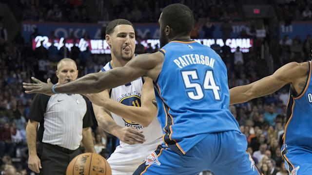 The Thunder forward tweeted a criticism of NBA officials after they missed a call at the end of Friday night's loss to the Bucks.