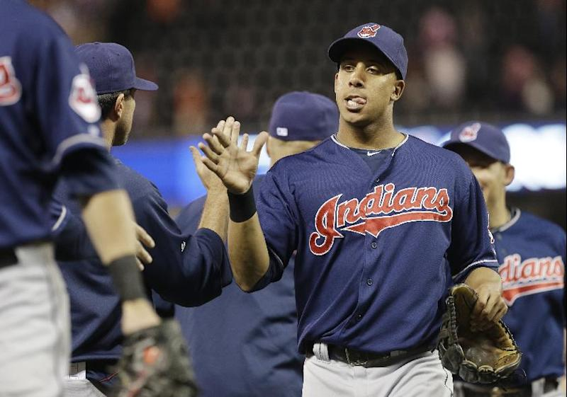 Brantley, Indians finalize $25M, 4-year deal