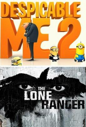 July 4th Global Weekend: 'Despicable Me 2′ Giant $293.2M and #1, 'Lone Ranger' Dismal $73.2M For Depp, 'Let Me Explain' $17.3M