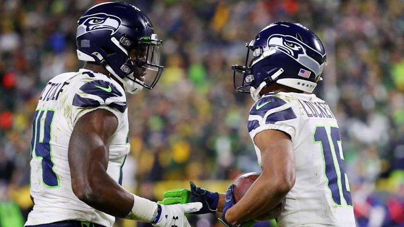 Tyler Lockett on D.K. Metcalf: Stopping both of us isn't going to work