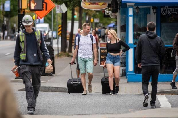 Daily life in Vancouver as British Columbians strive to return to a sense of normalcy, while the more contagious delta variant drives up cases. (Ben Nelms/CBC - image credit)