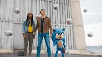 """<p><strong>Amazon's Description:</strong> """"The world needed a hero, we got a hedgehog. Superpowered with speed, Sonic races to save the world and stop evil genius Dr. Robotnik from world domination. <a class=""""link rapid-noclick-resp"""" href=""""https://www.popsugar.com/Jim-Carrey"""" rel=""""nofollow noopener"""" target=""""_blank"""" data-ylk=""""slk:Jim Carrey"""">Jim Carrey</a>, Ben Schwartz and James Marsden star in the adventure the whole family will enjoy.""""</p> <p><a href=""""https://www.amazon.com/gp/video/detail/B084MLF717/"""" class=""""link rapid-noclick-resp"""" rel=""""nofollow noopener"""" target=""""_blank"""" data-ylk=""""slk:Watch Sonic the Hedgehog on Amazon Prime Video here!"""">Watch <strong>Sonic the Hedgehog</strong> on Amazon Prime Video here!</a></p>"""