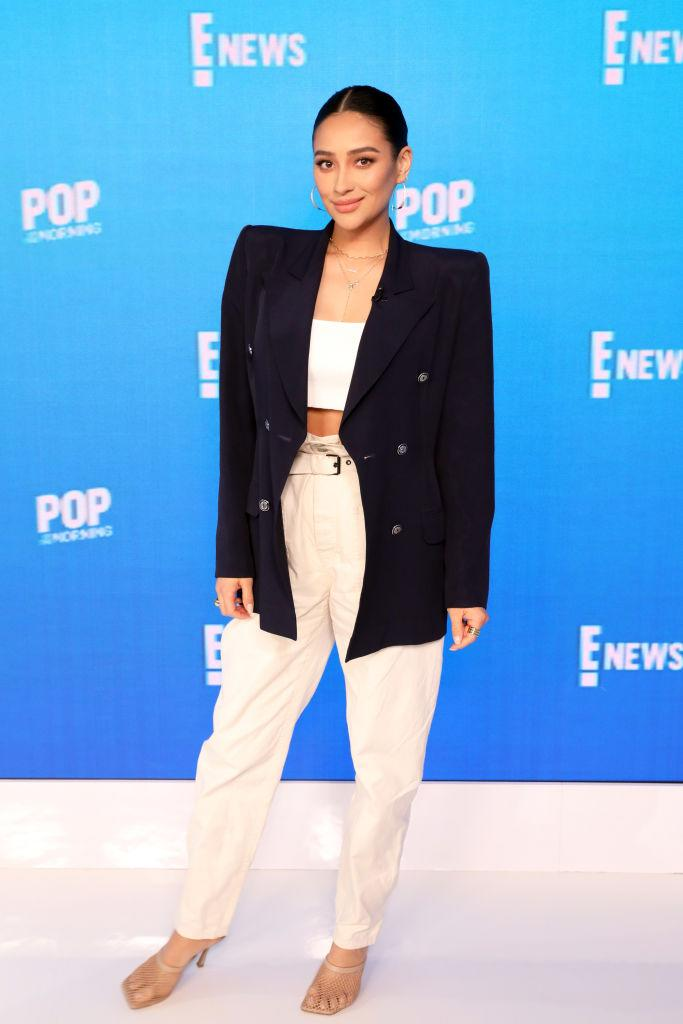 Shay Mitchell is opening up about mom-shaming in a new interview. (Photo by: Monica Schipper/E! Entertainment/NBCU Photo Bank via Getty Images)