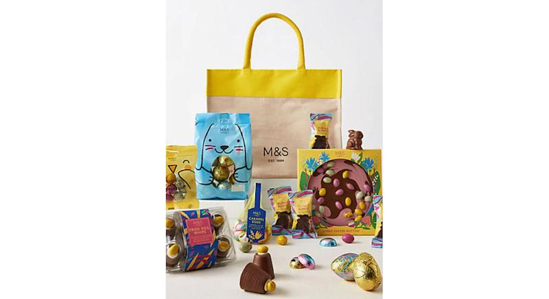 Easter Treats from M&S Gift Bag