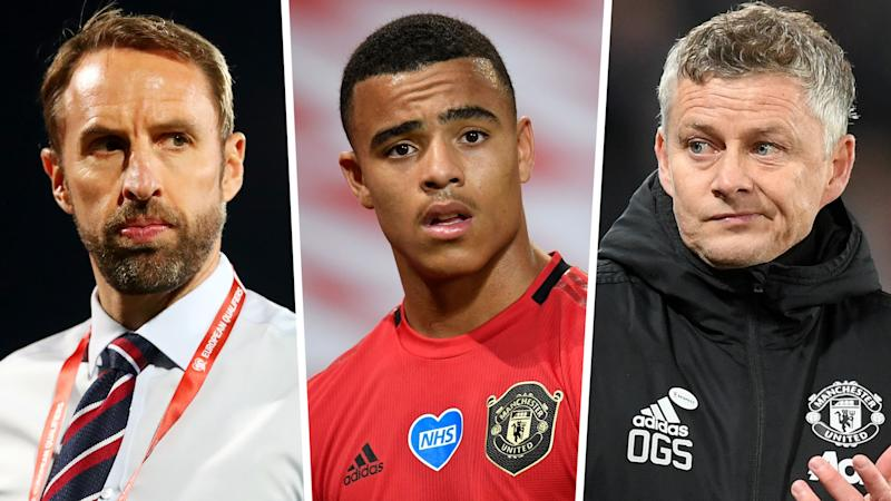 'Greenwood's an 18-year-old kid who needs managing' - Solskjaer slams England & Southgate