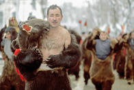 """New Year's eve traditions in Romania (Alecsandra Dragoi, Romania, Youth Photographer of the Year, 2013 Sony World Photography Awards) <br> <br> <a href=""""http://worldphoto.org/about-the-sony-world-photography-awards/"""" rel=""""nofollow noopener"""" target=""""_blank"""" data-ylk=""""slk:Click here to see the full shortlist at World Photography Organisation"""" class=""""link rapid-noclick-resp"""">Click here to see the full shortlist at World Photography Organisation</a>"""
