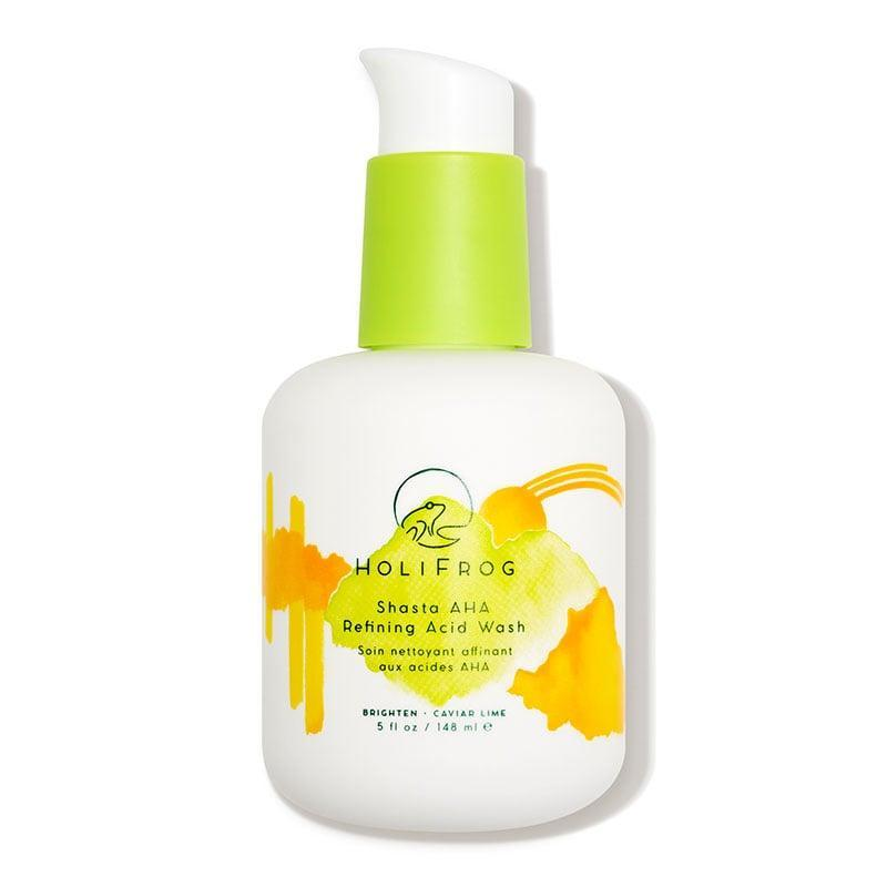<p><span>HoliFrog Shasta AHA Refining Acid Wash</span> ($38) is a glow-enhancing, gentle exfoliating face wash that's suitable for all skin types.</p>