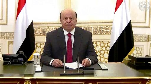 Yemen's President Urges Houthis To Allow Humanitarian Aid