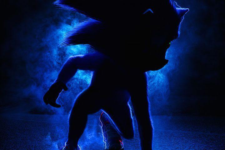 Sonic The Hedgehog poster is swole