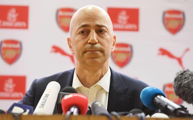 Ivan Gazidis torn by AC Milan's big money offer to leave Arsenal