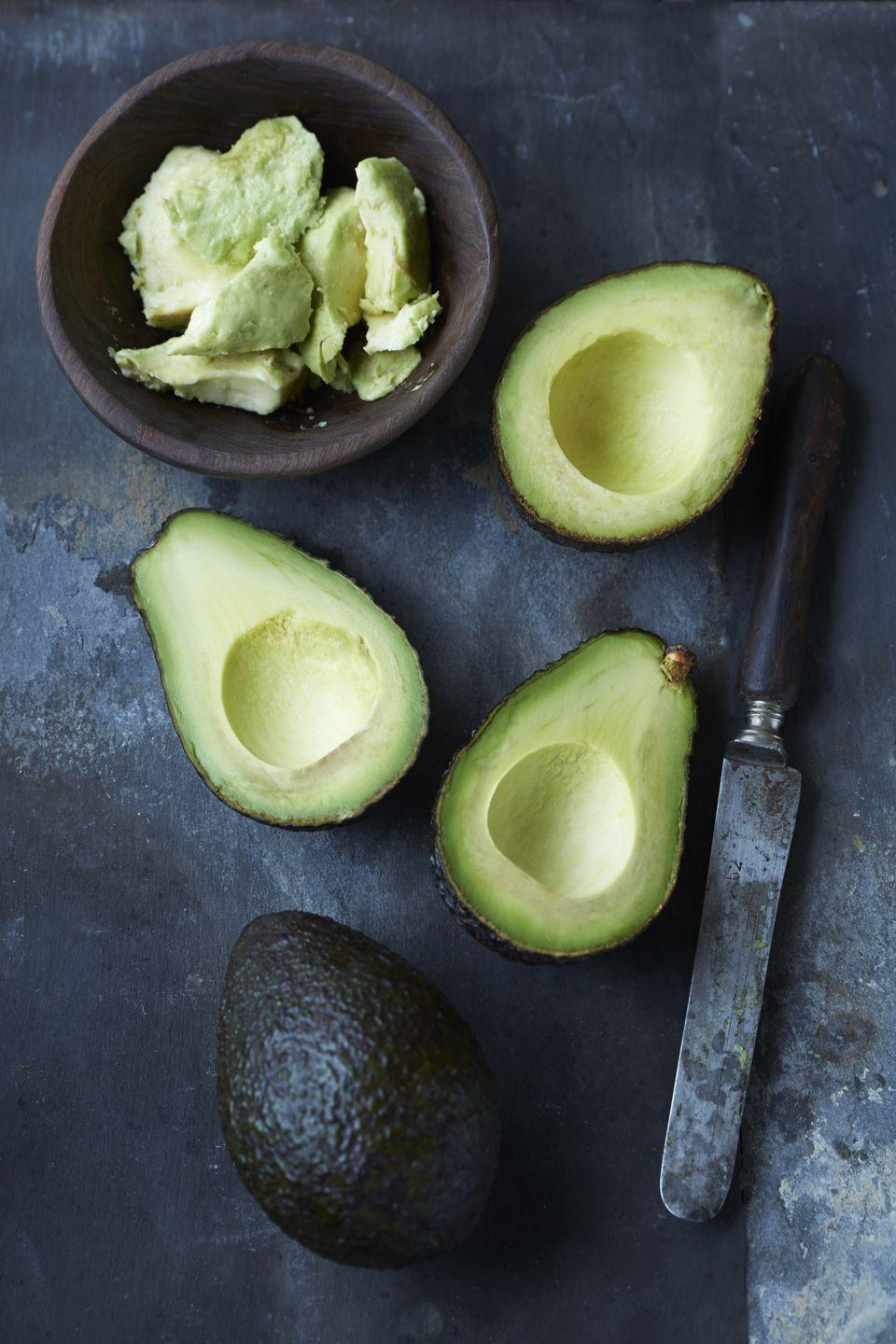 <p>Don't even think about putting this creamy fruit (or is it a vegetable?) in the freezer—unless you'd like to kiss that silky center goodbye. Like cheese, it'll totally lose its original texture. It's fine to use in a smoothie, though!</p>