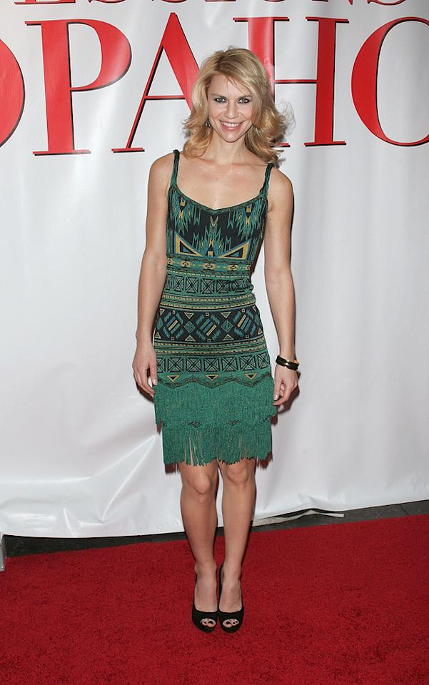 """<a href=""""http://movies.yahoo.com/movie/contributor/1800019605"""">Claire Danes</a> at the New York premiere of <a href=""""http://movies.yahoo.com/movie/1809973783/info"""">Confessions of a Shopaholic</a> - 02/05/2009"""