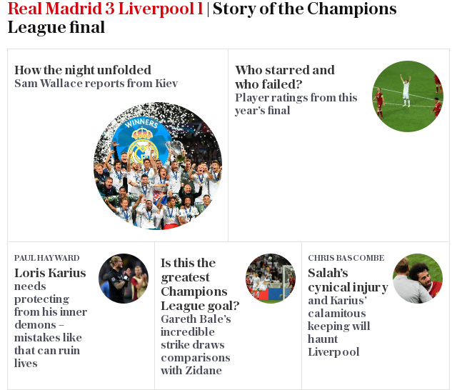 Real Madrid 3 Liverpool 1 | Story of the Champions League final