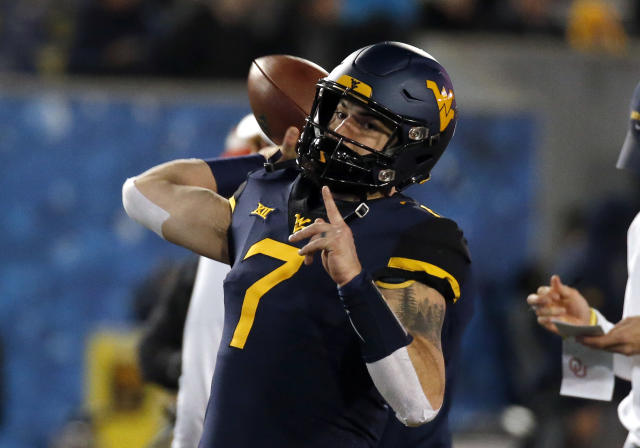 "West Virginia QB <a class=""link rapid-noclick-resp"" href=""/ncaaf/players/238451/"" data-ylk=""slk:Will Grier"">Will Grier</a> will not play in the Camping World Bowl vs. Syracuse. (Getty)"