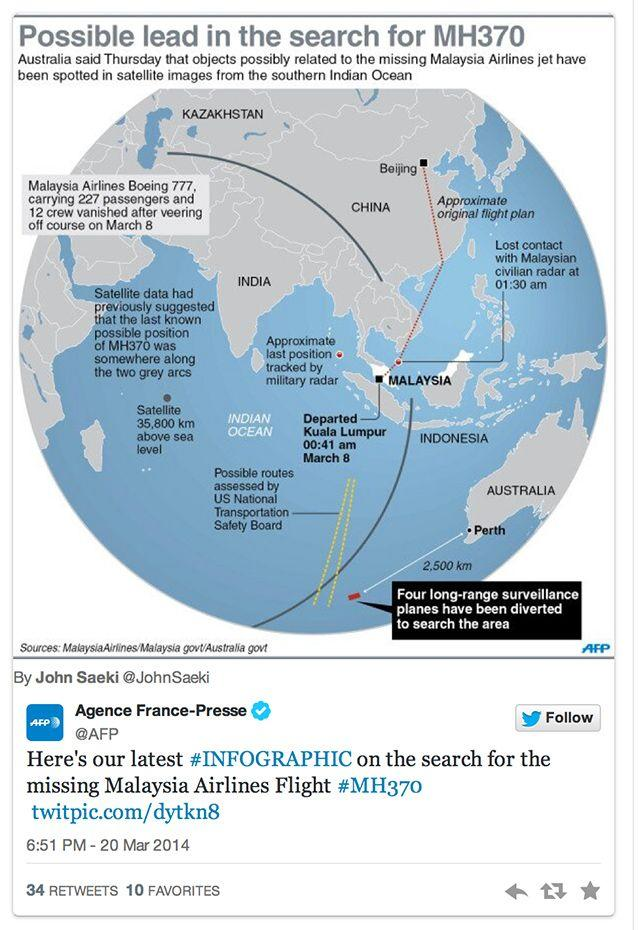 Everything you need to know about missing flight MH370. Photo: AFP