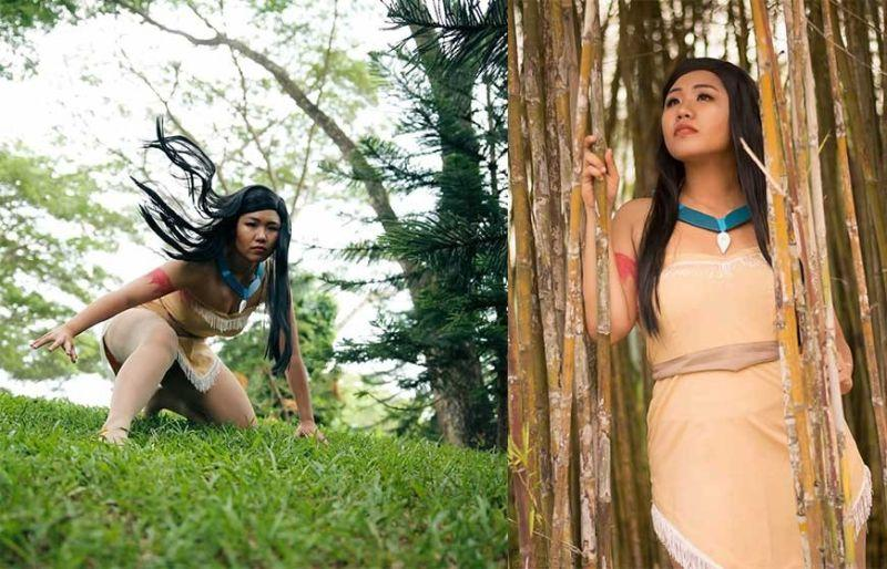 Cosplay of the Day: Pocahontas