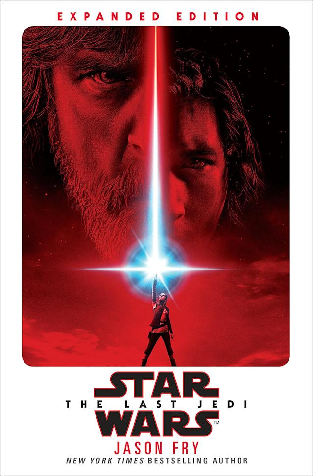 Cover for <em>Star Wars: The Last Jedi — Expanded Edition</em> by Jason Fry (Del Rey)