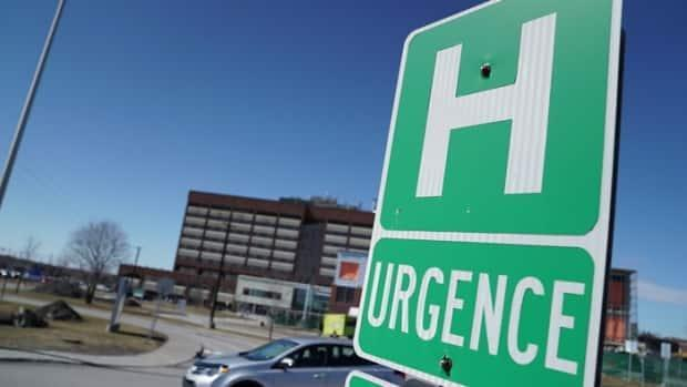 Health authorities for the Outaouias say hospitals in the region are seeing emergency rooms well beyond capacity. (Jonathan Dupaul/CBC - image credit)