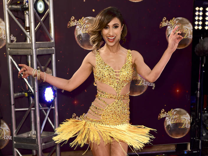 Anita Rani at the launch of Strictly Come Dancing 2015 in Hertfordshire. PRESS ASSOCIATION Photo. Picture date: Tuesday 1st September, 2015. Photo credit should read: Ian West/PA Wire