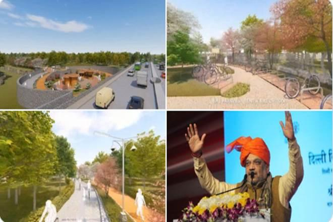 According to the DDA, the project seeks to make the city most walkable and environment-friendly and its total cost is estimated to be is Rs 550 crore. (Twitter image)