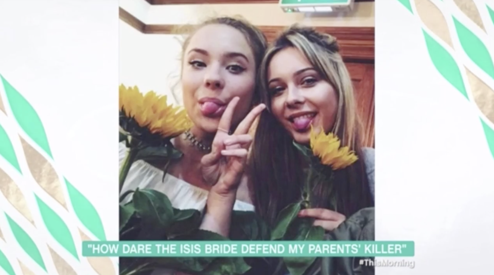 Alex has become the legal guardian of her younger sister Patricia