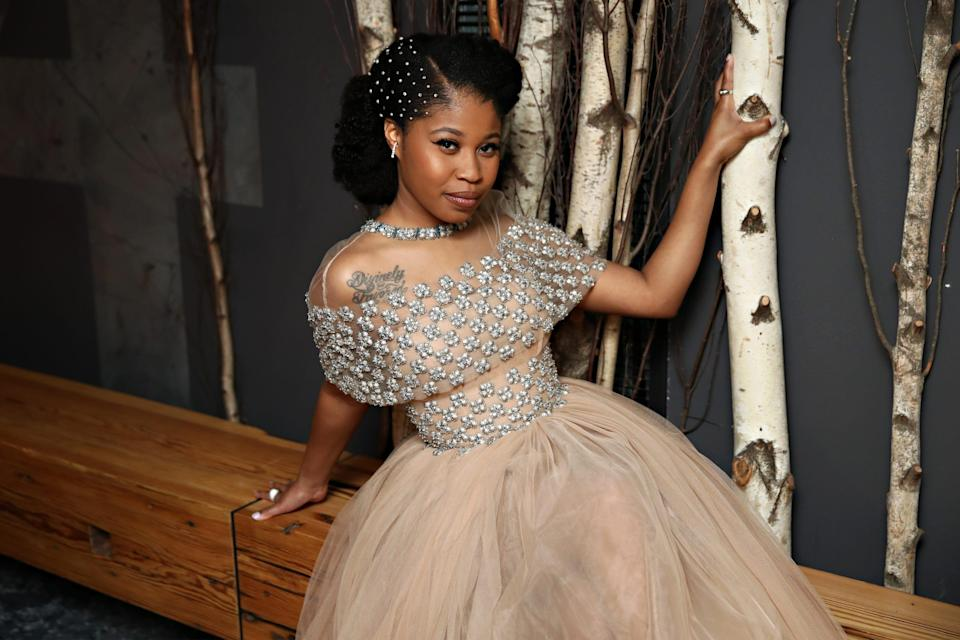 """Dominique Fishback is earning rave reviews for her role in """"Judas and the Black Messiah."""""""