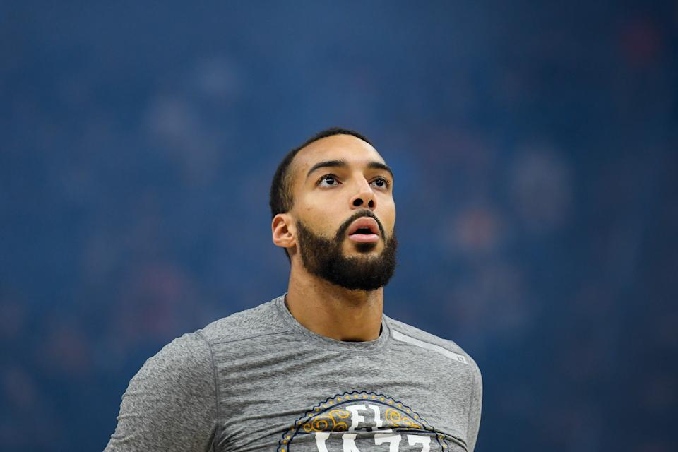 Utah Jazz center Rudy Gobert, the first NBA player to contract the coronavirus, is ready to put it behind him.