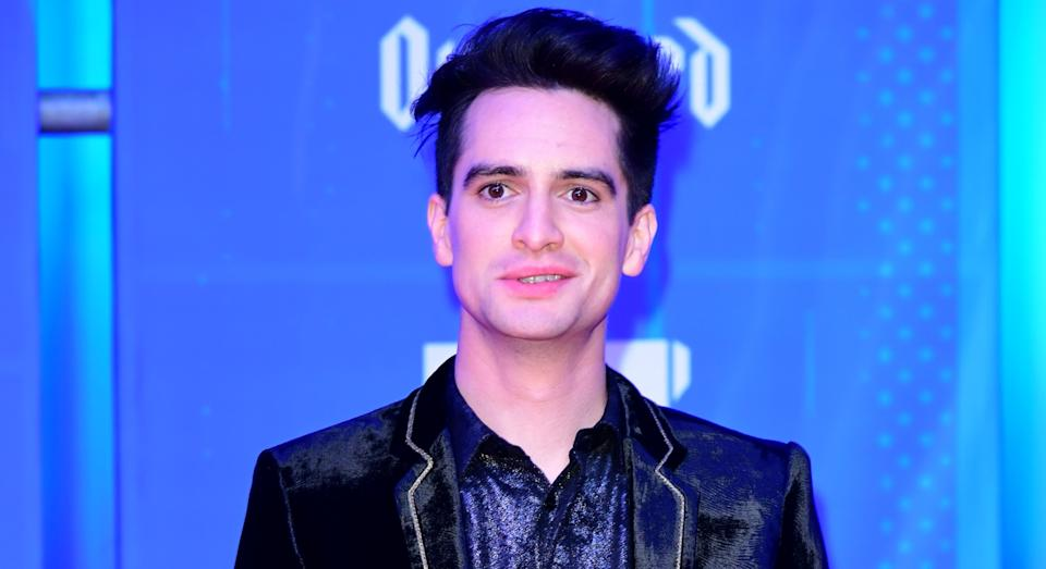 Brendan Urie attending the MTV Europe Music Awards 2018 (Getty)