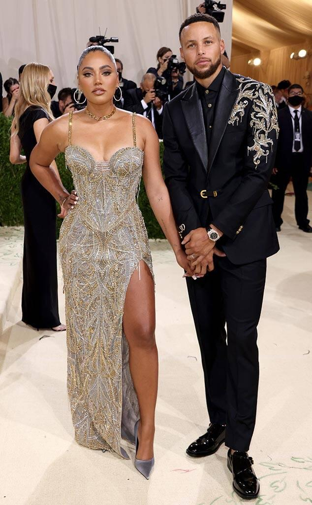 Stephen Curry, Ayesha Curry, 2021 Met Gala, Red Carpet Fashion, Arrivals, Couples