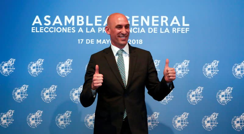 Rubiales reelected Spanish football federation president