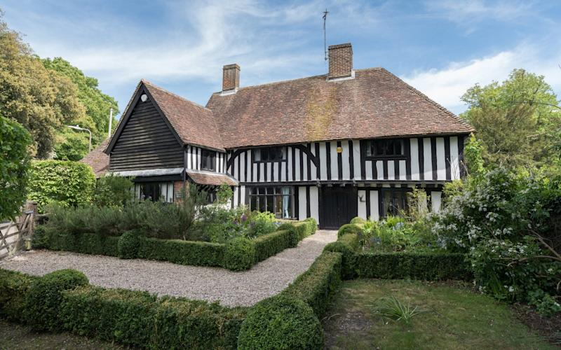Forge House in Lenham – a former weekend home for Isabel Mahony and her family – is for sale at £1.15m through Strutt & Parker