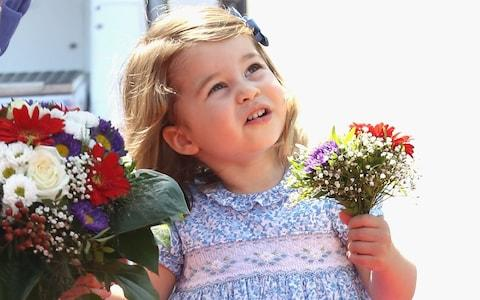 Princess Charlotte in July - Credit:  Chris Jackson