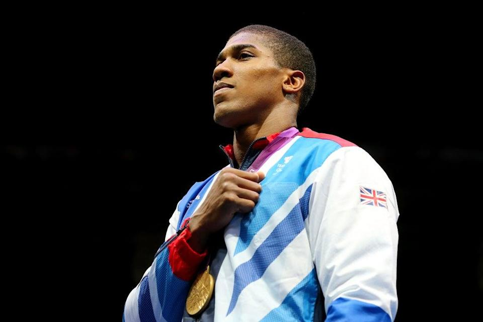 Anthony Joshua won a gold medal at the London 2012 Games (Getty Images)