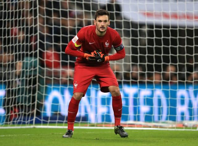 Lloris has 113 caps for France. (Mike Egerton/PA)
