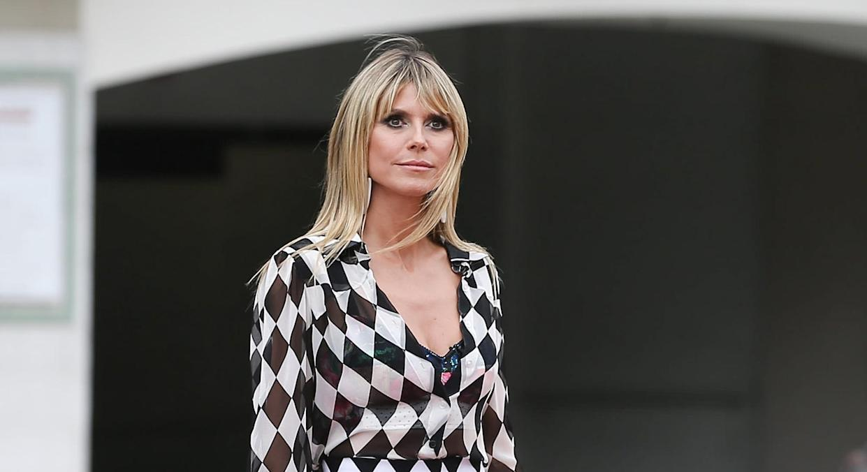 Heidi Klum starred in the lingerie empire's iconic catwalk shows. (Getty Images)