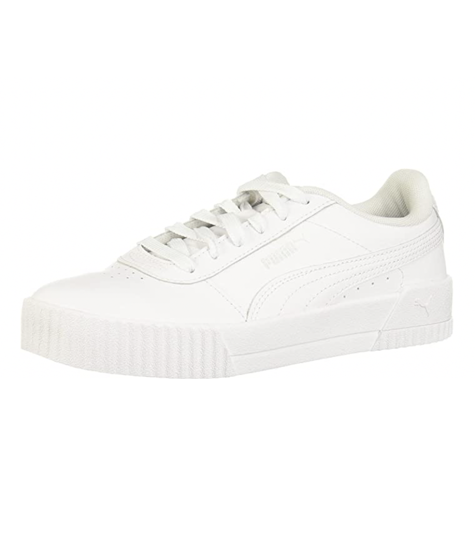 """<p><strong>PUMA</strong></p><p>amazon.com</p><p><strong>$55.00</strong></p><p><a href=""""https://www.amazon.com/dp/B07HJLNP3N?tag=syn-yahoo-20&ascsubtag=%5Bartid%7C10065.g.36801569%5Bsrc%7Cyahoo-us"""" rel=""""nofollow noopener"""" target=""""_blank"""" data-ylk=""""slk:Shop Now"""" class=""""link rapid-noclick-resp"""">Shop Now</a></p><p>Nearly 10,000 shoppers gave these leather Pumas a perfect rating.</p>"""