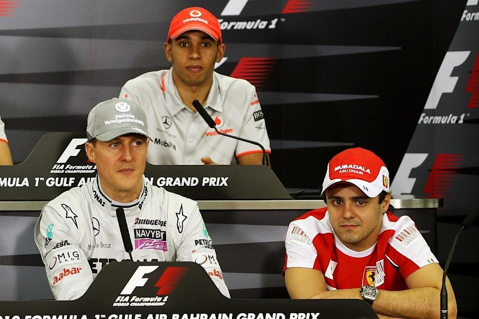 Massa: Schumacher worked harder, Hamilton more talented