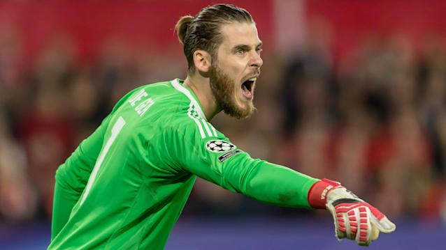 The Manchester United boss is confident his goalkeeper will remain at with the club beyond the season, despite links to Los Blancos
