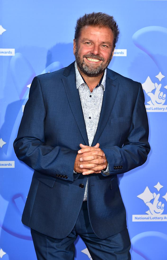 Martin Roberts celebrating the inspirational winners in this year's National Lottery Awards, the search for the UK's favourite National Lottery-funded projects. The National Lottery Awards show is on BBC One at 10.45pm on Wednesday 26th September