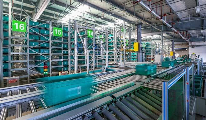 BEST warehouses and sorting centres can handle millions of parcels every day. Photo: Handout