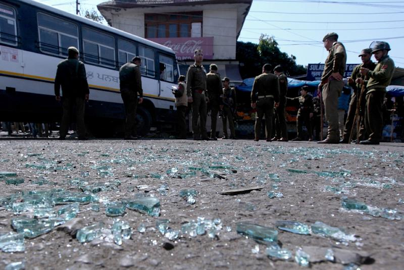 The Jammu blast comes amid heightened tensions between India and Pakistan