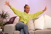 <p>Alicia Keys celebrates the launch of her new lifestyle beauty brand Keys Soulcare at the Keys Soulcare Lounge on Wednesday. </p>