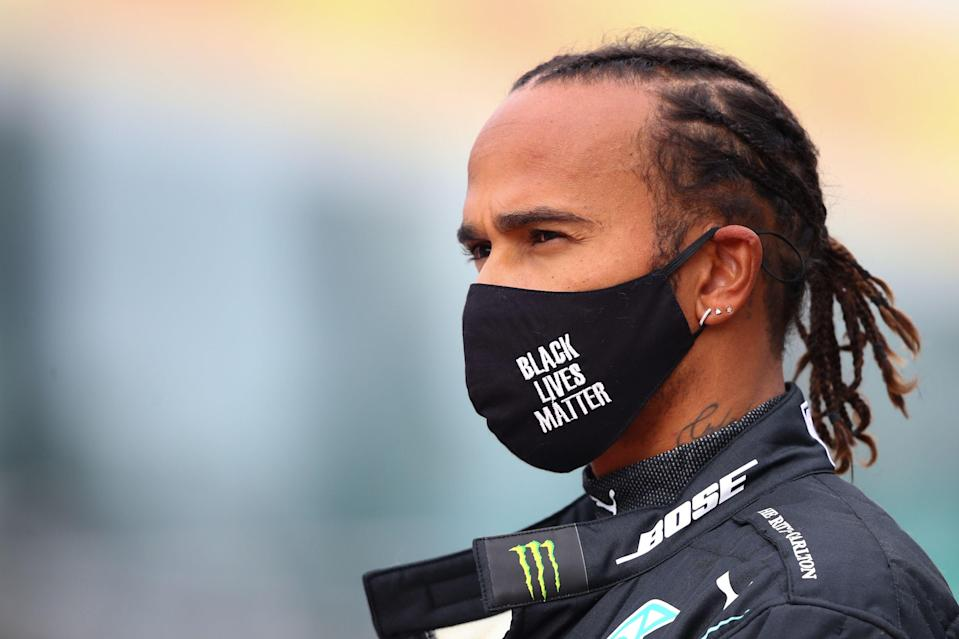 <p>Lewis Hamilton supports Art for Animals, helping to protect biodiversity by ending the illegal wildlife trade</p> (Getty)