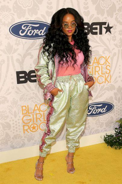 PHOTO: H.E.R. attends Black Girls Rock 2019 at the NJ Performing Arts Center, Aug. 25, 2019, in Newark, New Jersey. (Jemal Countess/Getty Images)
