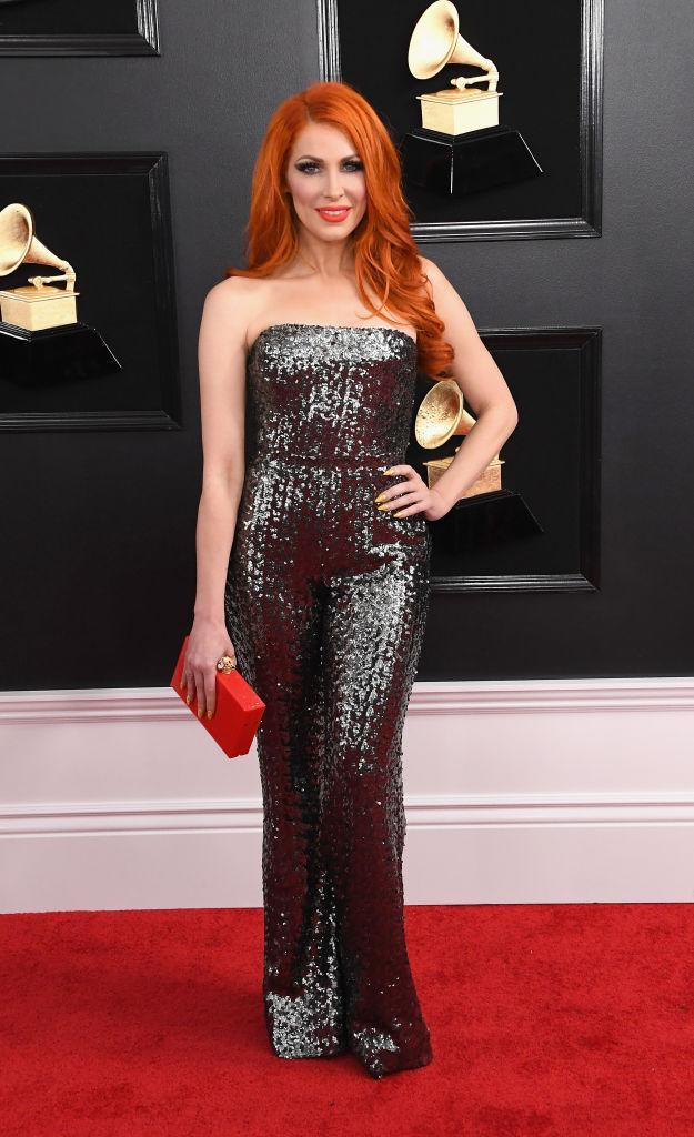 <p>Bonnie McKee attends the 61st annual Grammy Awards at Staples Center on Feb. 10, 2019, in Los Angeles. </p>