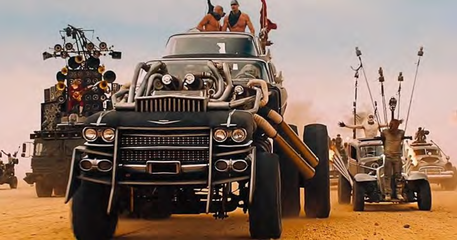THE GIGAHORSE: W16 CADILLAC PAIR from the Mad Max Fury Road movie