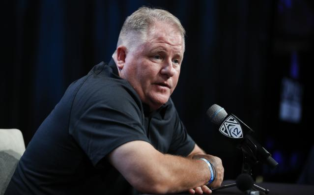 Chip Kelly will have his hands full in Year 1 at UCLA. (AP)