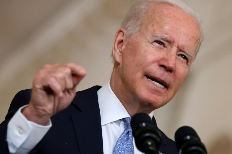 President Joe Biden denounced the Supreme Court's failure to block a restrictive abortion law in Texas (AFP/CHIP SOMODEVILLA)