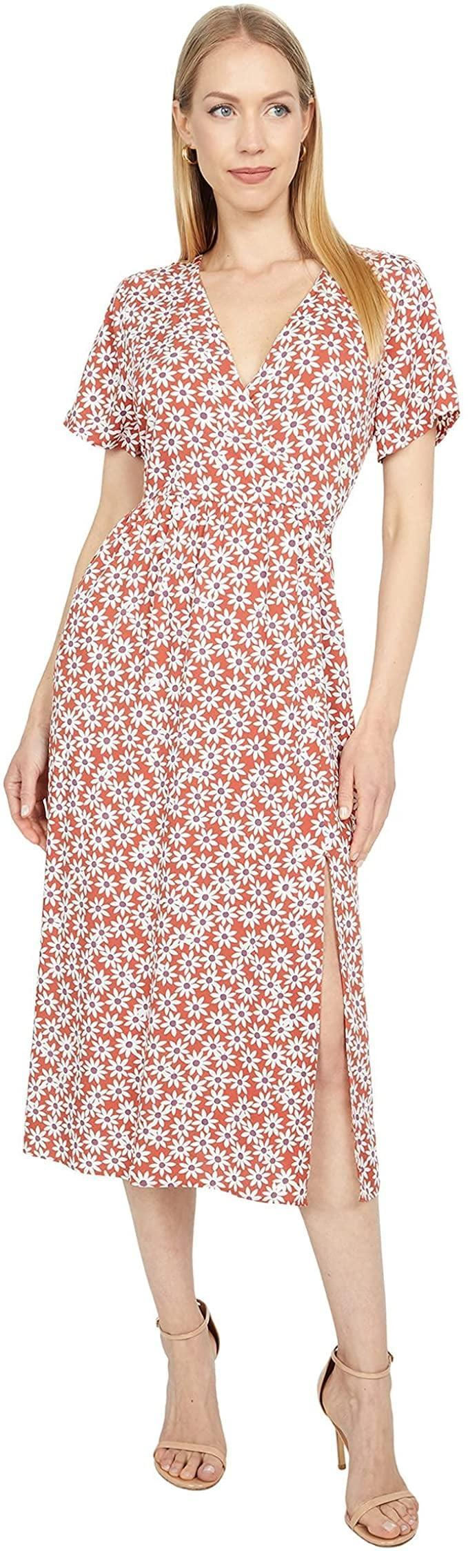 <p>This <span>Madewell Faux Wrap Easy Midi Dress</span> ($118) is a failsafe choice for almost every occasion. The floral print strikes a nostalgic note, while the silhouette feels modern.</p>